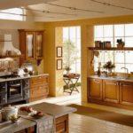 Итальянский стиль в интерьере кухни - фото