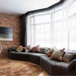 Интерьер гостиной в стиле лаунж - фото
