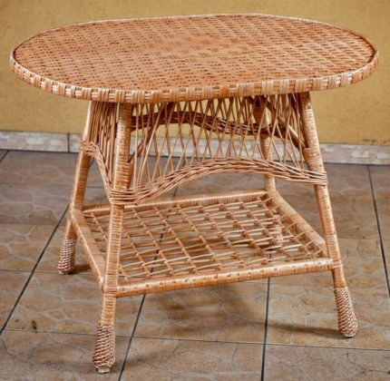 Плетеная мебель в интерьере 5