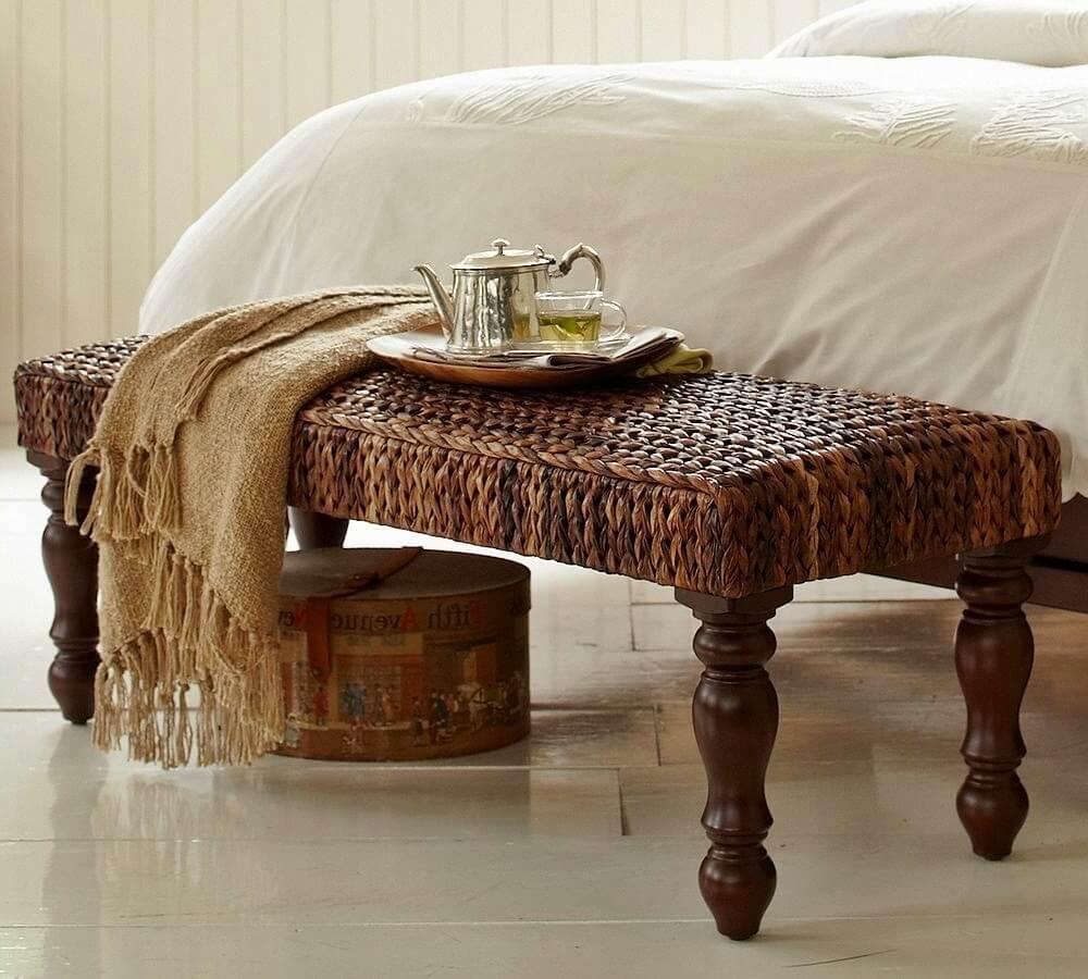 Плетеная мебель в интерьере 6