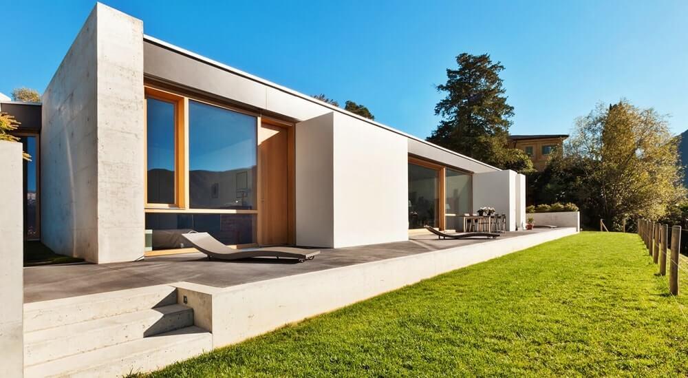 Минимализм в архитектуре - материалы
