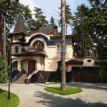 Роскошный загородный дом в стиле модерн