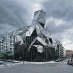 Здание в стиле деконструктивизм - фото