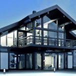 Проект частного дома в стиле фахверк
