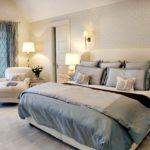 Стиль лаунж в интерьере спальной комнаты