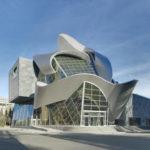 Здание в стиле деконструктивизма - фото