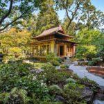 Красивый домик в японском стиле