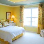Оформление спальни в желтом цвете