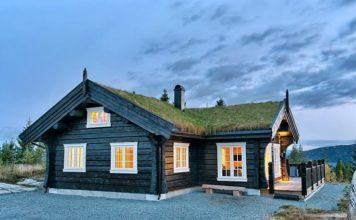 Дома в норвежском стиле