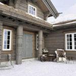 Норвежский дом - фото