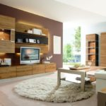 Дизайн гостиной комнаты в немецком стиле