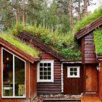 Современный дачный дом в норвежском стиле