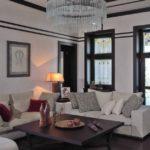 Дизайн гостиной комнаты в немецком стиле - фото