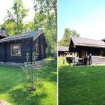 Стильный дачный домик в норвежском стиле