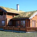 Красивая дача в норвежском стиле