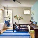 Кресло-гамак в детской комнате