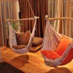 Оригинальные подвесные кресла