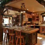 Стиль рустик в оформлении кухни - фото