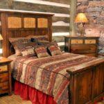 Спальня в рустикальном стиле
