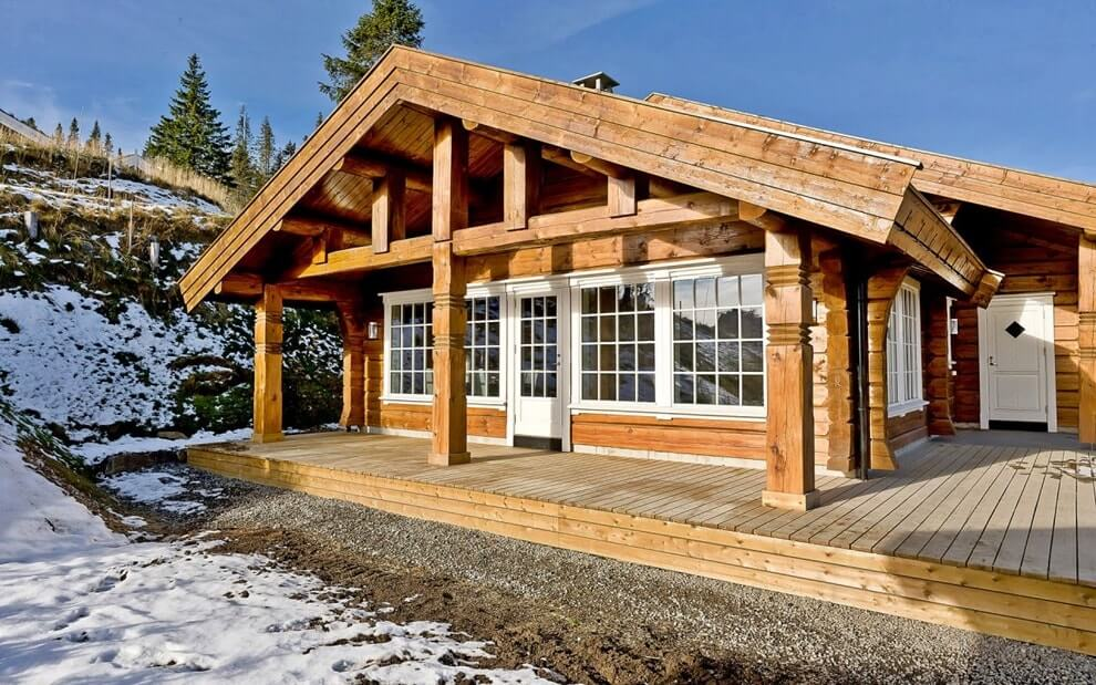 Современный норвежский дом