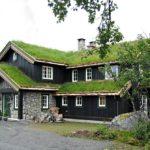 Большой загородный дом в норвежском стиле