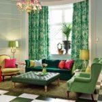 Мебель в зеленом цвете