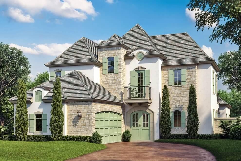 кованые фасад дома в стиле прованс фото частой причиной бывают