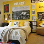 Комната подростка в желтом цвете
