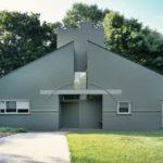 Загородный дом в стиле постмодернизм - фото