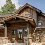 Деревенский стиль в архитектуре