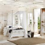 Дизайн спальной комнаты в стиле шебби шик