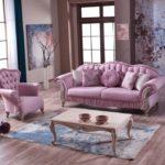Роскошная мебель в розовом цвете