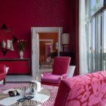 Розовый интерьер - фото