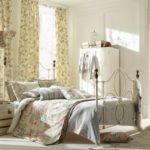 Шебби шик в интерьере спальни - фото