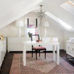 Белый домашний кабинет - фото