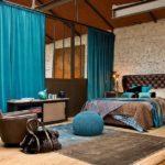 Коричневый цвет в интерьере спальной комнаты