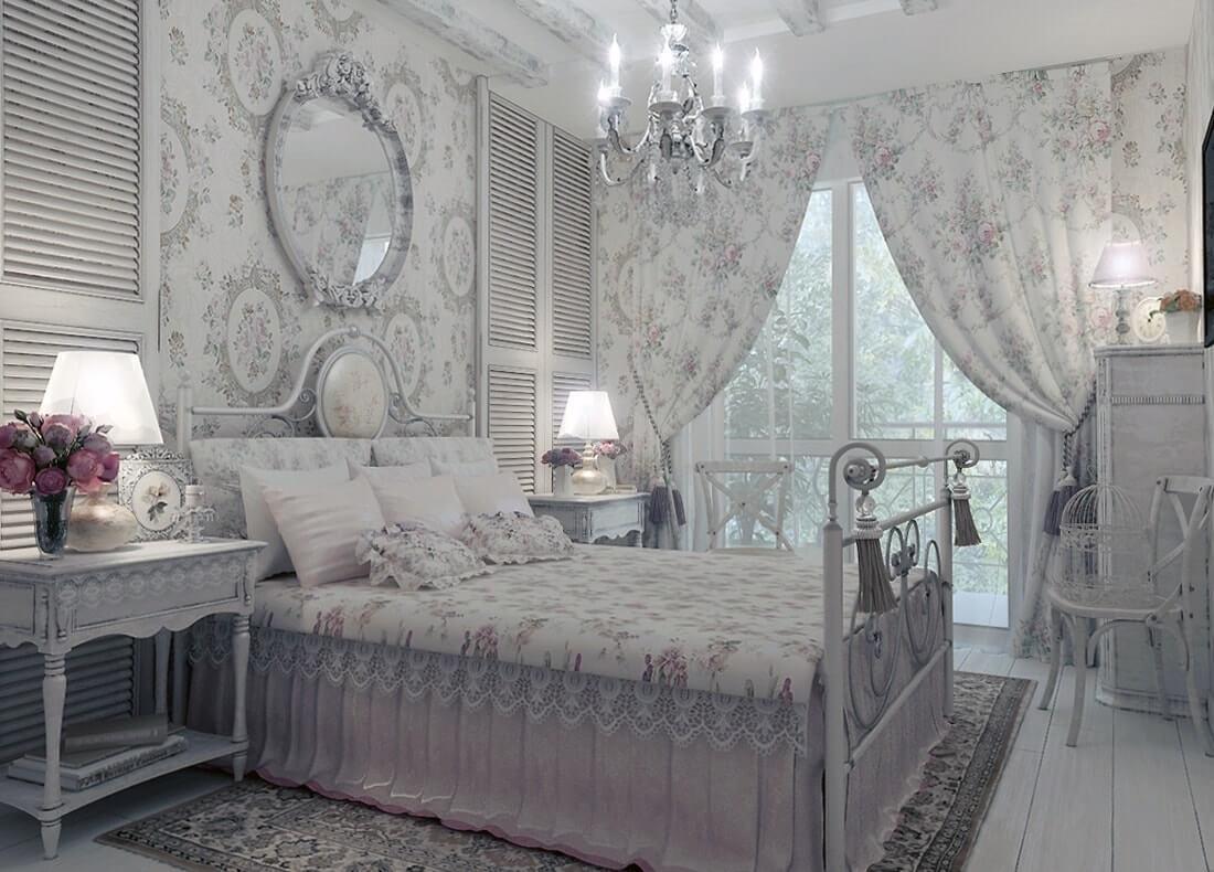 Свет и осветительные приборы для спальни шебби шик