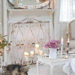 Декор для гостиной в стиле шебби шик
