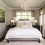 Потолочные люстры в интерьере спальни - фото 2
