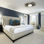 Потолочные люстры в интерьере спальни - фото 3