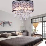 Потолочные люстры в интерьере спальни - фото 5