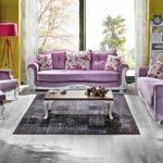 Мебель в сиреневом цвете