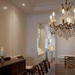 Потолочные люстры в интерьере кухни - фото 3