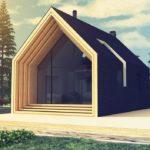 Проект дома в стиле конструктивизма