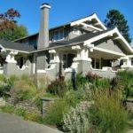 Красивый дизайн дома в стиле крафтсман