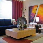 Оригинальная диптих - картина в гостиной