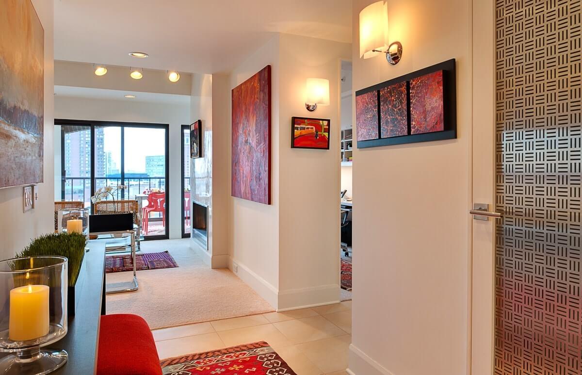 Модульная картина в коридоре