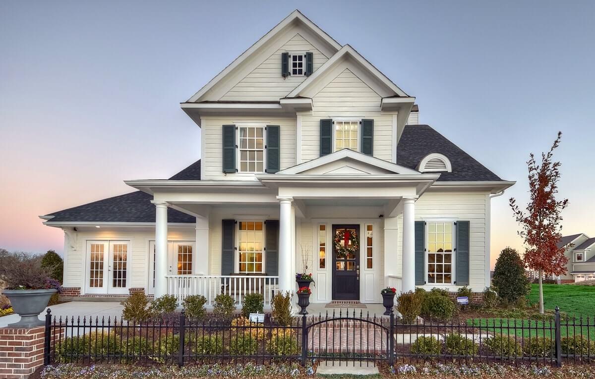 Дом в стиле craftsman