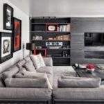 Серый цвет в дизайне интерьера, варианты сочетаний, фото - Rehouz