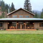Загородный дом в стиле ранчо